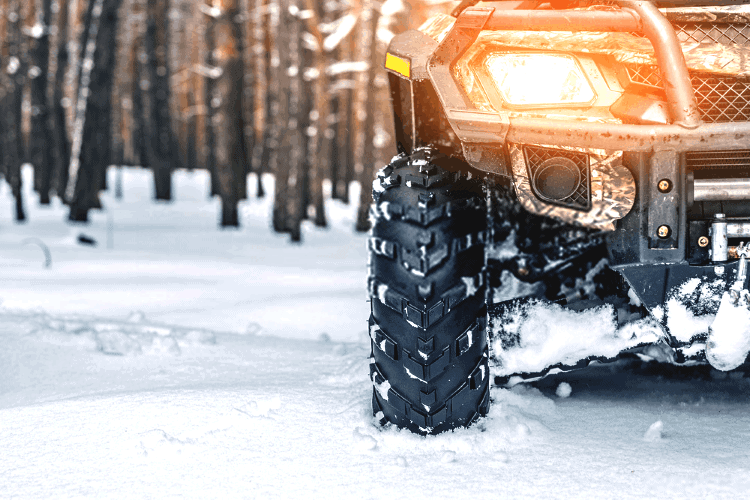 best atv snow tires